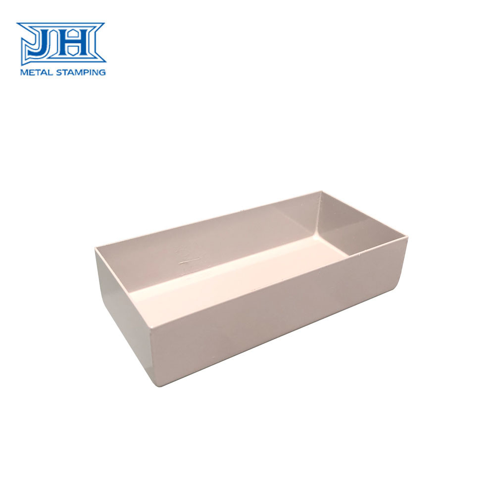 JH Industrial Spare Parts Stamping , Bending Oil Groove Parts Powder Coating