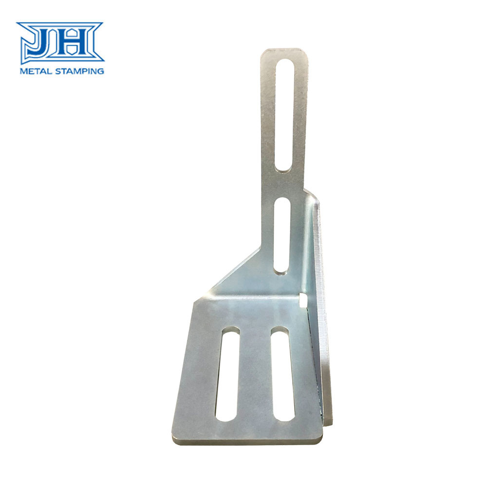 Galvanized Finished Metal Stamping Parts Bending Welding Bracket and Holder