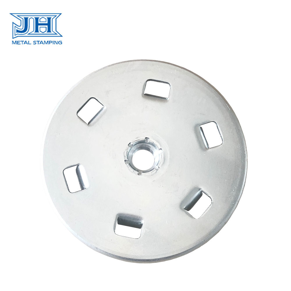 Auto Stamping Parts Customized Galvanized Aluminium for Sand Wheel
